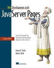 Cover of: Web development with JavaServer pages | Duane K. Fields
