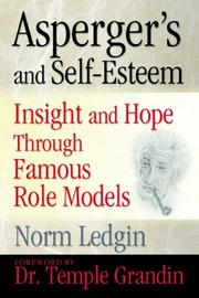 Cover of: Asperger's and Self-Esteem | Norm Ledgin