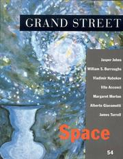 Cover of: Grand Street 54 | Turrell, James.