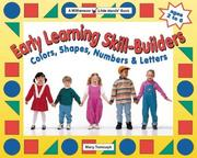 Cover of: Early Learning Skill Builders by Mary Tomczyk