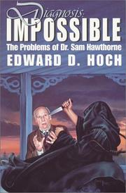 Cover of: Diagnosis Impossible | Edward D. Hoch