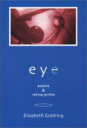 Cover of: Eye | Elizabeth Goldring