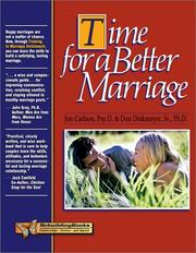 Cover of: Time for a Better Marriage | Jon Carlson