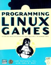 Cover of: Programming Linux Games by John Hall