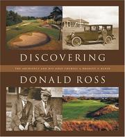 Cover of: Discovering Donald Ross by Bradley S. Klein