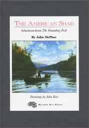 Cover of: The American Shad | John McPhee
