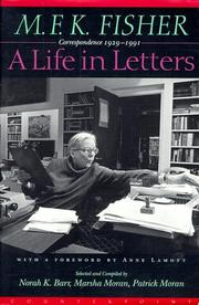 Cover of: A life in letters by M. F. K. Fisher