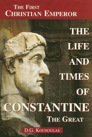 the life of the emperor constantine i