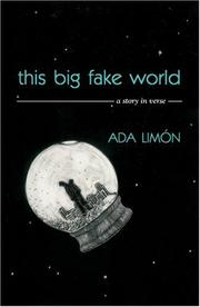 Cover of: This Big Fake World | Ada Limón