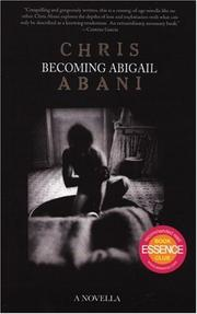 Cover of: Becoming Abigail | Christopher Abani