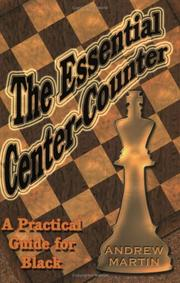 Cover of: The Essential Center Counter | Andrew Martin