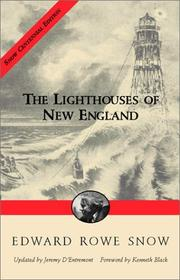 Cover of: The lighthouses of New England | Edward Rowe Snow