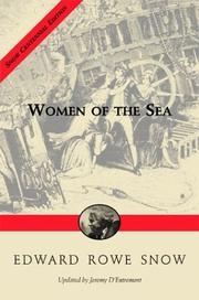 Cover of: Women Of The Sea by Jeremy D'Entremont