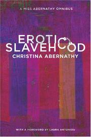 Cover of: Erotic Slavehood | Christina Abernathy