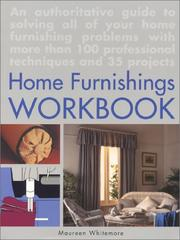 Cover of: The home furnishings workbook | Maureen Whitemore