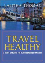Cover of: Travel Healthy by Lalitha Thomas