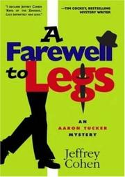 Cover of: A Farewell to Legs | Jeffrey Cohen