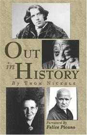 Cover of: Out in History | Thom Nickels