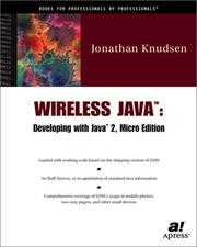 Cover of: Wireless Java | Jonathan Knudsen