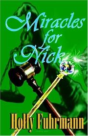 Cover of: Miracles for Nick by Holly Fuhrmann