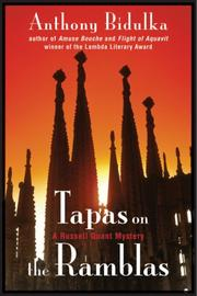 Cover of: Tapas on the Ramblas by Anthony Bidulka