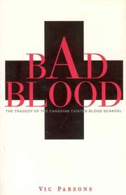 Cover of: Bad blood | Vic Parsons