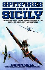 Cover of: SPITFIRES OVER SICILY by Brian Cull
