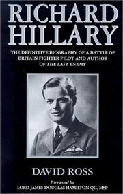 Cover of: Richard Hillary by Ross, David