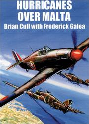 Cover of: HURRICANES OVER MALTA by Brian Cull