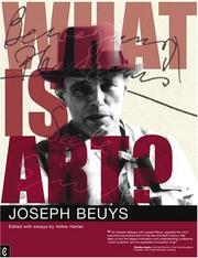 Cover of: What is art? | Joseph Beuys