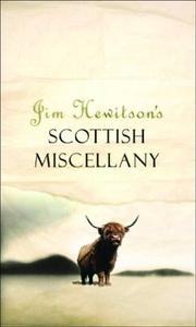 Cover of: Jim Hewitson's Scottish miscellany by Jim Hewitson