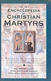 Cover of: Encyclopedia of Christian Martyrs by Robert Backhouse