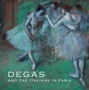Cover of: Degas and the Italians in Paris | Ann Dumas
