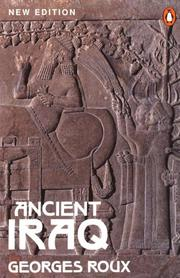 Cover of: Ancient Iraq by Georges Roux