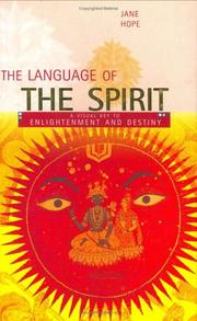 Cover of: The Language of the Spirit | Jane Hope