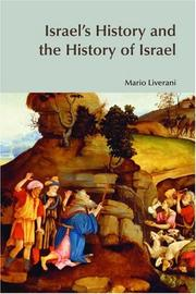 Cover of: Israel's History and the History of Israel (Bible World) (Bible World) | Mario Liverani
