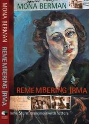 Cover of: Remembering Irma by Mona Berman
