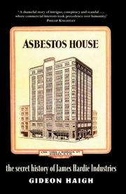 Cover of: Asbestos House | Gideon Haigh