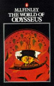 Cover of: The World of Odysseus | M. I. Finley