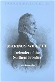 Cover of: Marinus Willett by Larry Lowenthal