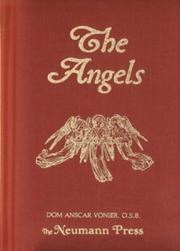 Cover of: The Angels | Dom Anscar Vonier