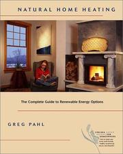 Cover of: Natural Home Heating | Greg Pahl