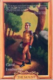 Cover of: The Mount | Carol Emshwiller