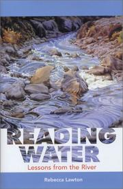 Cover of: Reading Water by Rebecca Lawton