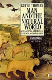 Cover of: Man and the Natural World by Keith Thomas