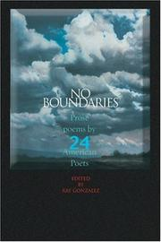 Cover of: No Boundaries | Ray Gonzalez