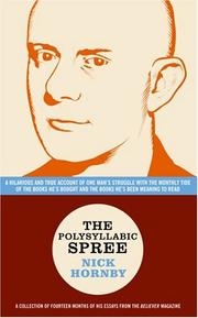 Cover of: The Polysyllabic Spree by Nick Hornby