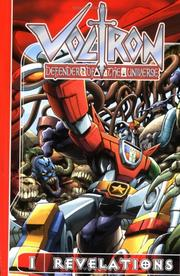 Cover of: Voltron Volume 1: Revelations (Voltron: Defender of the Universe) | Dan Jolley