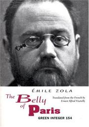 Cover of: The Belly of Paris | Émile Zola