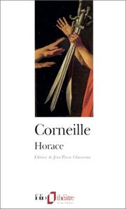 Cover of: Horace | Pierre Corneille
